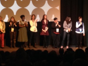 Director and Cast of The Foxie Merkins at 2014 Sundance