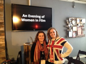 Kaitlynn Smith and Dawn Hall at a Women In Film Panel (invitation only!)