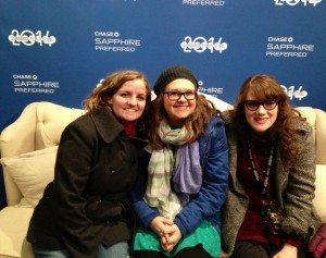 Kaitlynn Smith, Alex Slocum, and Kaitlin Westbook at Sundance