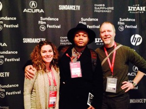 Michael and Professors at Sundance
