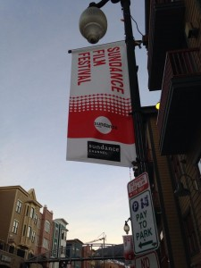 Sundance Flag on Main street