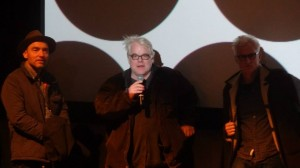 Philip Seymour Hoffman at a Q&A after his film God's Pocket at 2014 Sundance