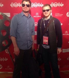 Wes Manakee and Nathan Gjrastad at Sundance