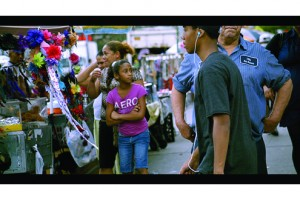 Street, a new video by artist James Nares was featured in The New Frontier at Sundance