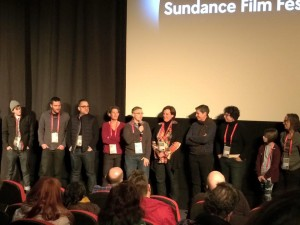 The Royal Road Cast and Crew at Q&A after Screening