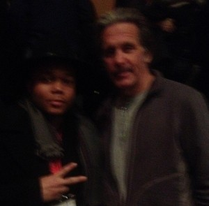 Gary Cole with Michael