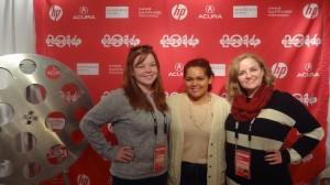 Brenna Sherrill, Kaitlynn Smith, and Lendee Sanchez at Sundance Film Festival