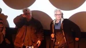 ohn Slattery and Philip Seymour Hoffman