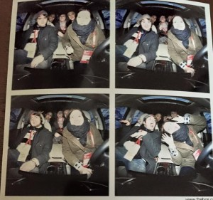 Ben and Classmates at Acura Photo Booth having a blast!