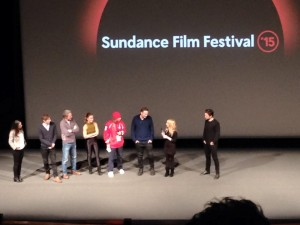 Opening Night Film--The Bronze Cast and Crew during Q&A after film.