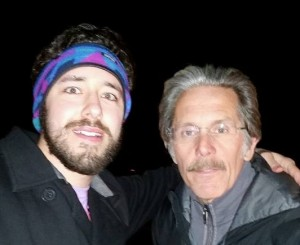 Parker with Gary Cole